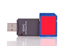 Cartão de memória do SD Foto de Stock