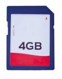 Cartão de memória do SD Imagens de Stock