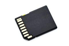 Cartão de memória do SD foto de stock royalty free