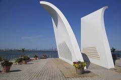 Cartão 9/11 de memorial em Staten Island Fotos de Stock Royalty Free