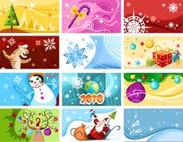 Cartão de Natal ilustração royalty free