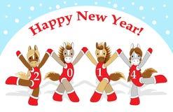 Cartão de Natal 2 Fotografia de Stock Royalty Free