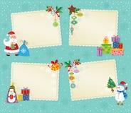 Cartão de Natal. ilustração stock