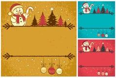 Cartão de Natal 4 Fotos de Stock