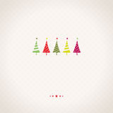 Cartão de Natal Imagem de Stock