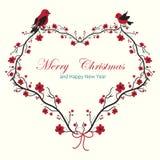 Cartão de Natal Fotografia de Stock Royalty Free