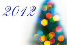 Cartão de Natal colorido Imagem de Stock