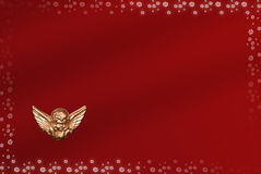 Cartão de Natal com espaço para desejos Imagem de Stock Royalty Free