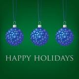 Cartão de Natal da quinquilharia Imagens de Stock
