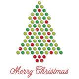 Cartão de Natal de Bling Foto de Stock