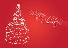 Cartão de Natal do vetor Fotografia de Stock