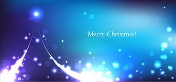 Cartão de Natal do vetor Fotos de Stock