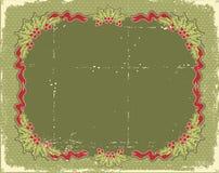 Cartão de Natal do vintage Foto de Stock Royalty Free