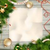 Cartão de Natal Eps 10 Fotografia de Stock
