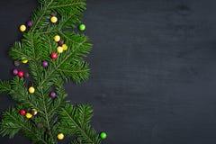 Cartão de Natal Espaço para o texto Foto de Stock