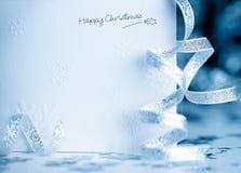 Cartão de Natal feliz Foto de Stock Royalty Free