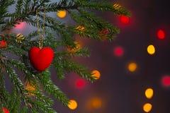 Cartão de Natal, fundo Fotografia de Stock Royalty Free