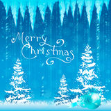 Cartão de Natal Fundo Imagens de Stock Royalty Free