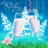 Cartão de Natal Fundo Imagem de Stock