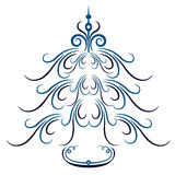 Cartão de Natal Fundo Fotografia de Stock
