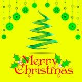 Cartão de Natal Fundo Fotos de Stock