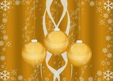 Cartão de Natal/papel de parede Imagem de Stock