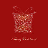 Cartão de Natal, projeto, vetor, ilustração Imagens de Stock