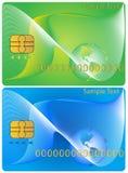 Cartão de operação bancária Fotos de Stock