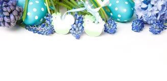 Cartão de Páscoa, decoração de easter fotos de stock