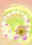 Cartão de retrato ilustração stock