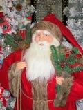 Cartão de Santa do Natal - estoque a foto Fotografia de Stock