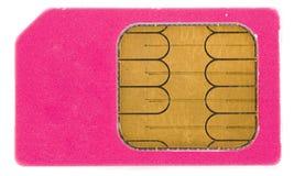 Cartão de Sim Fotografia de Stock