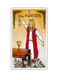 Cartão de Tarot Fotografia de Stock