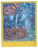 Cartão de Tarot - boa saúde Fotografia de Stock