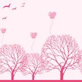 Cartão de Valentine Greeting Fotografia de Stock Royalty Free