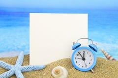 Cartão de verão fotos de stock