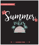Cartão de verão/fundo Foto de Stock Royalty Free