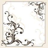 Cartão decorativo Fotos de Stock