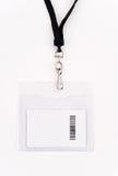 Cartão do acesso da segurança no colhedor fotos de stock royalty free