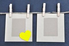 Cartão do amor Fotos de Stock