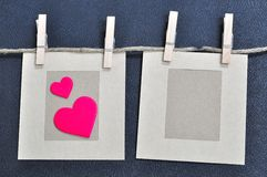 Cartão do amor Imagens de Stock Royalty Free