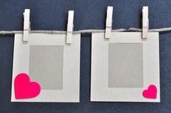 Cartão do amor Foto de Stock