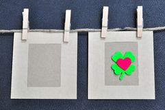 Cartão do amor Imagem de Stock Royalty Free