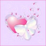 Cartão do amor Foto de Stock Royalty Free