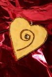 Cartão do amor do dia do Valentim Fotografia de Stock