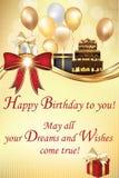 Cartão do aniversário Foto de Stock Royalty Free