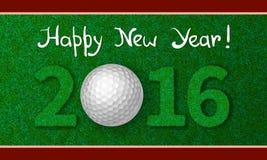 Cartão 2016 do ano novo ilustração do vetor