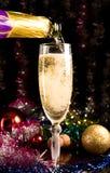Cartão do ano novo Foto de Stock Royalty Free