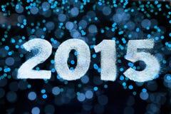 Cartão do ano novo feliz Fotos de Stock Royalty Free