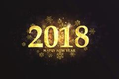 Cartão do ano novo do feriado Imagens de Stock Royalty Free